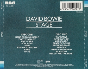 "David Bowie Beauty and the Beast song ""Heroes"""